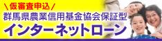 仮審査申込 群馬県農業信用基金協会保証型 インターネットローン