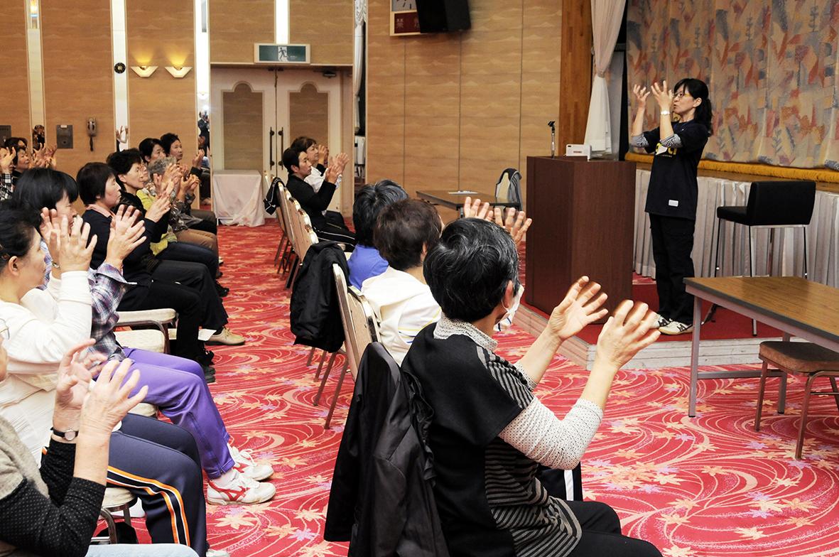 JA甘楽富岡女性会 レインボー体操