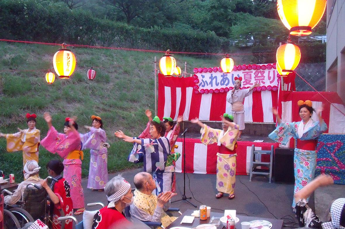 JA甘楽富岡女性会 もろこしの会夏祭り