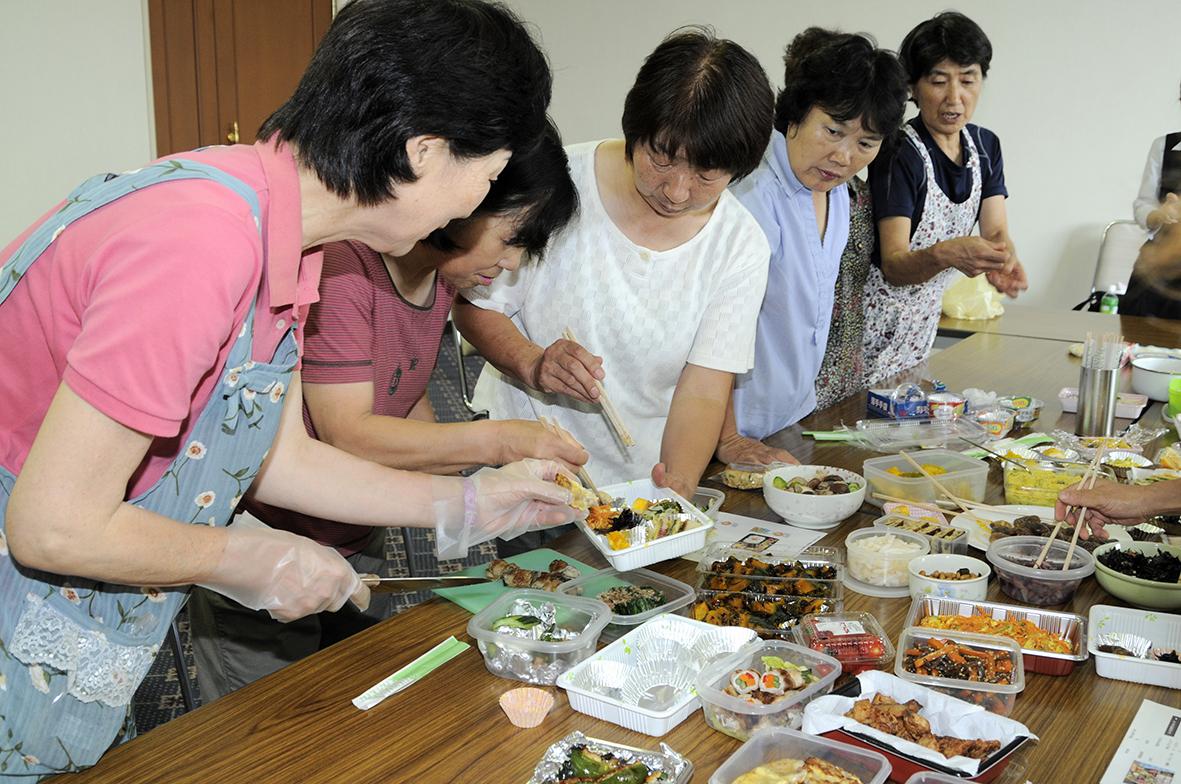 JA甘楽富岡女性会 お弁当
